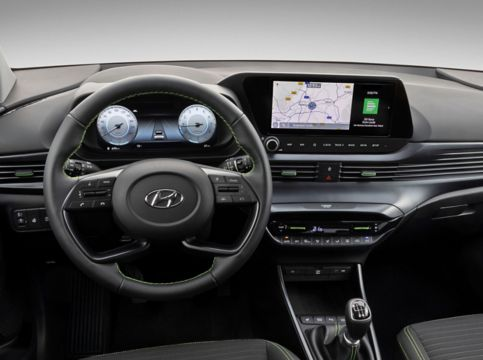 all new i20 interior digital cluster 4x3